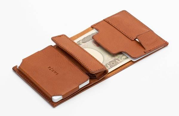 紙幣・コイン・カード・鍵が全部入る!手の中に納まるサイズの「スマートウォレット」が登場