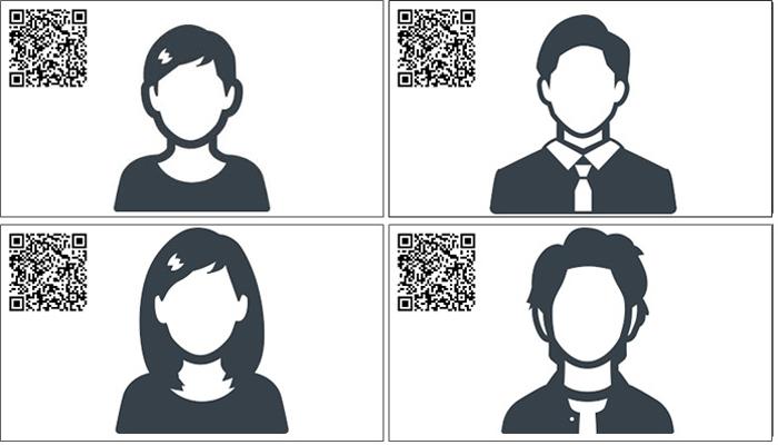 初対面の人ともオンラインで名刺交換。QRコード読み取りアプリ「アイコニット」で「QR名刺」が作れる