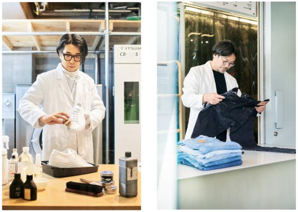 スニーカーやデニムの素材を活かし育てる次世代型クリーニング、東京・代々木上原に誕生