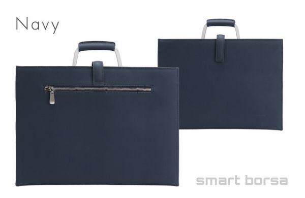 カバン・縫製業界の支援にも!薄くてミニマルなスマートバッグ「Smart Borsa」、Makuakeにて支援募集をスタート
