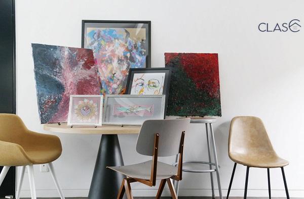 オフィスでもアートを楽しみたい!現代アートを月額3万円からレンタルできるサブスクサービス「Palette」始動!