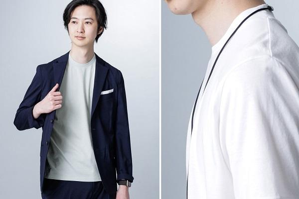 ナノ・ユニバース、ジャケット着用に特化したTシャツ「ジャケT」発売中!ビジネススタイルの悩みを解決