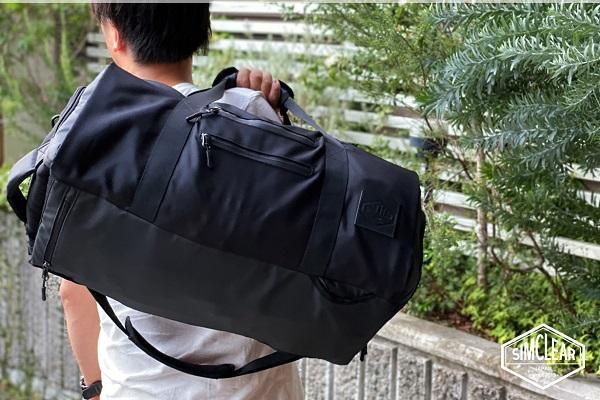 スーツ・革靴+荷物をすっきり収納、ビジネス仕様の大容量「4Way出張ボストンバッグ」が登場!機内持込サイズ