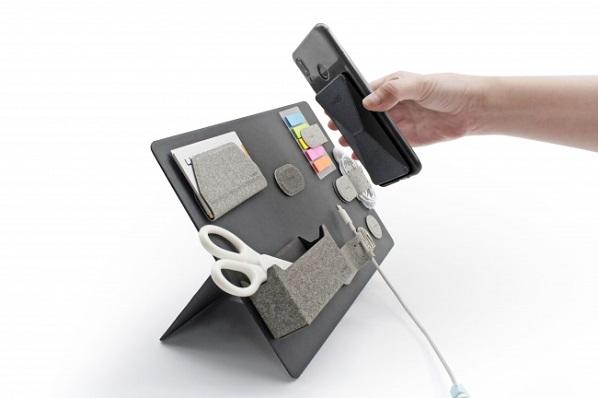 リモートワーカーの必需品、マグネットを活用してスマートに収納・携帯ができる「MagEasy」先行予約受付中