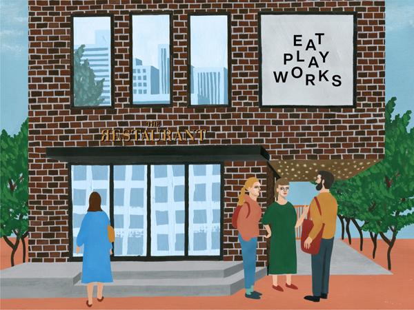 """""""食べて遊んで仕事して""""がコンセプト!「EAT PLAY WORKS」7月に東京・広尾にてオープン"""