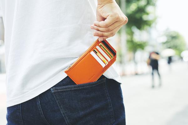 キャッシュレス時代に最適!薄さわずか10mmの財布「THE FRAGMENT」、Makuakeにて先行予約販売中