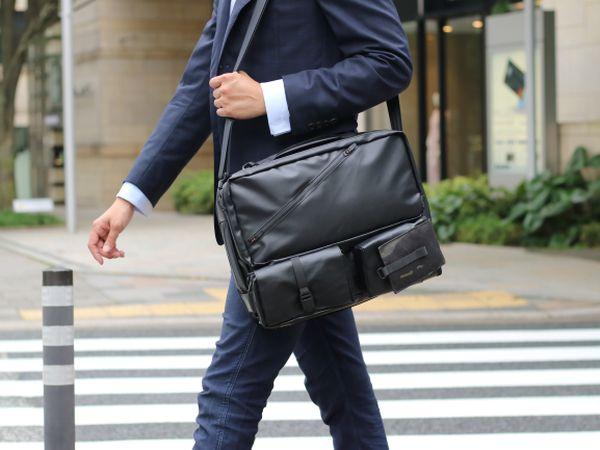 ビジネスから旅行まで活躍!バックパック・ショルダーバッグなど6Wayにチェンジ可能な多機能バッグが先行販売中