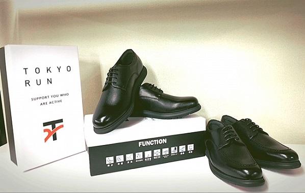 スニーカーのような「TOKYORUN ビジネスシューズ」新発売、ビジカジやリュック通勤にも合う独自デザイン