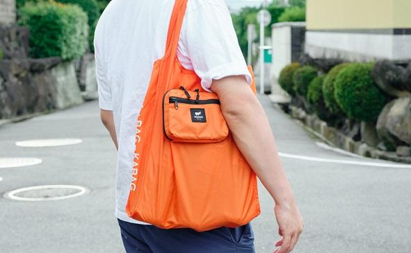用途によって大きさ・使い方が変わる、キャッシュレス対応エコバッグ「KABAGminimal」が登場