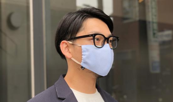 コロナで仕事が止まった職人を巻き込み開発した真夏用マスク「SUMMER MASKme」、ビジネスマンも使えるデザイン