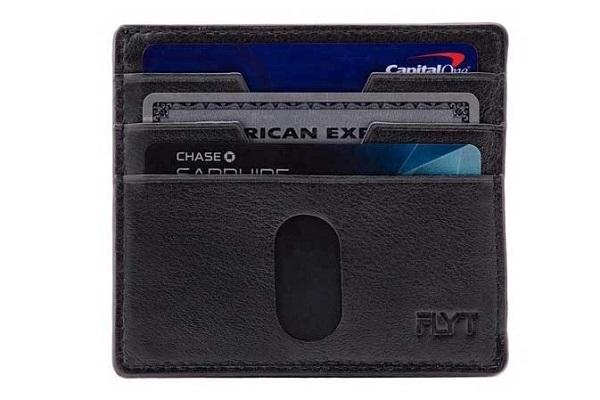 ミニマリストに最適!スキミング防止機能搭載の「本革スリム財布」が発売、ポケットに入れやすいデザイン