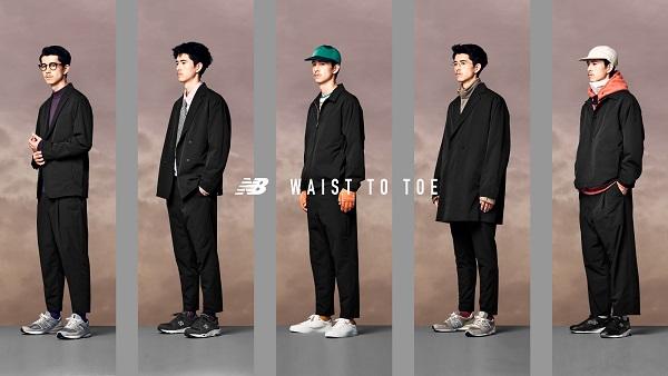 ニューバランスのパンツコレクション「WAIST TO TOE」から今季ジャケット5型が新発売