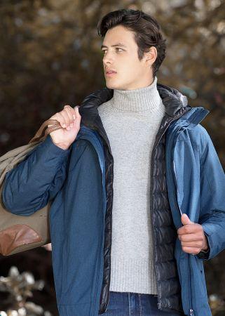 今冬の通勤アウターはもう決めた?服飾メーカーが本気でつくった3in1発熱ダウン、先行販売をスタート