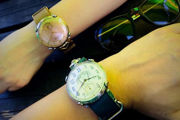 アンティーク懐中時計を腕時計に「UDEMACI」先行販売中!8色のベルトでカジュアルからフォーマルまで対応