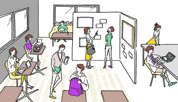 アートに囲まれた快適な環境で仕事ができる、制作会社併設のコワーキングスペースがオープン!