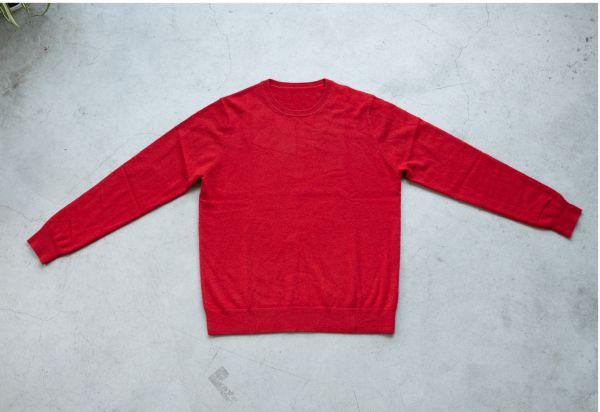 日常使いができる、手頃な価格の上質メンズカシミヤセーター「KANSANKI」Makuakeにて先行発売中