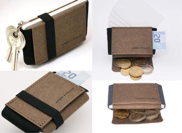 ドイツのマーケットから取り寄せた、ヴィーガンレザー使用のミニマルな財布が登場!Makuakeにて先行販売中