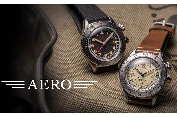 カスタムウォッチブランド「UNDONE」から、時計の歴史・デザインを継承した「AERO」コレクション登場
