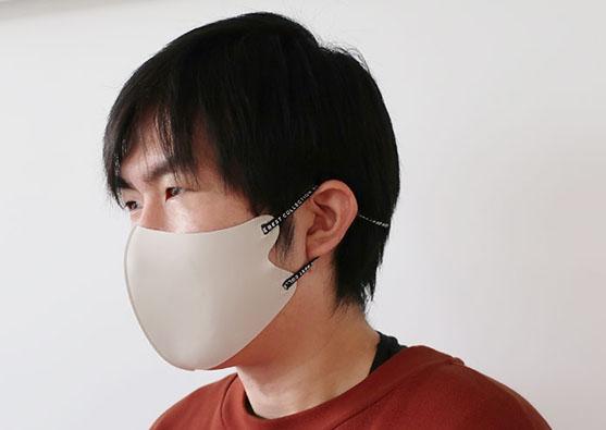 自分サイズに調整可能な「らくらくFITマスク」マスク専門オンラインストア「MASK CLUB」にて販売中
