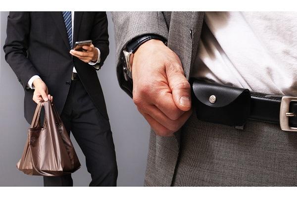 もうマイバッグを忘れない!ベルトにつけるエコバッグ「BELBAG」登場、本革ケースでおしゃれに持ち歩く