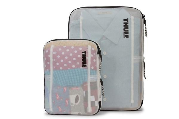 出張や旅行に便利!半透明で中身が見やすい「パッキングキューブ」登場、衣類を20%圧縮しスマートに整理