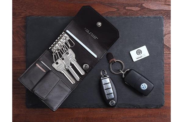 鍵・お金・カード入れが一つに!紛失防止タグ搭載のなくさないミニ財布「KeyWallet Mini」登場
