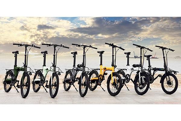 自転車通勤に最適!街乗りに特化した「電動折りたたみアシスト自転車」登場、好みのカラーで楽しめる全6色