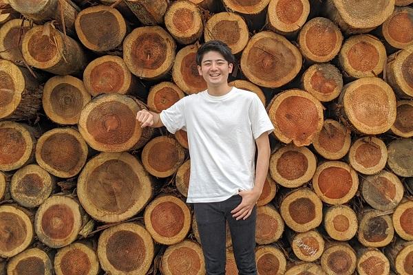 「行動し続けることで、縁がやってきた」林業スタートアップを経営する学生起業家に学ぶ、キャリアの切り拓き方