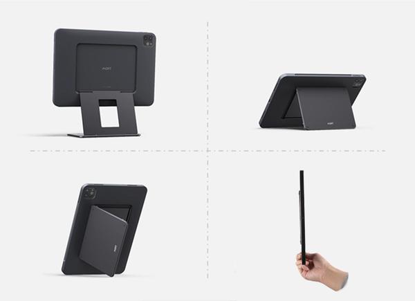 iPadをパソコン代わりに使いたい人へ、角度調整ができるiPadスタンドが発売