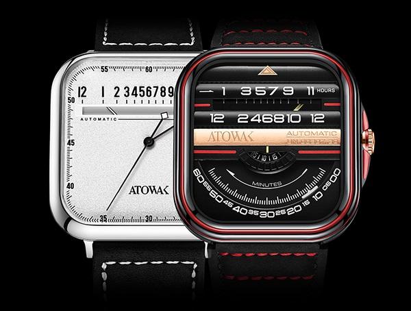 タコメーターを時間表示に!新しい時間の見方を提案する機械式腕時計「ATOWAK」Makuakeにて販売中