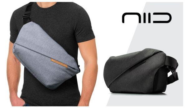 タブレットやPCも持ち歩ける!機能性と造形美を兼ね備えるスリングバッグがクラウドファンディング展開中