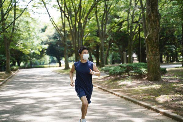 ランニングやサイクリングなどの有酸素運動時に!感染症&花粉対策ができるスマートマスクが発売