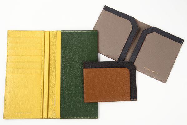 薄さ1cm以下のミニマルな高級本革財布がMakuakeに登場!TPOに合わせて使い分けられる全3タイプ