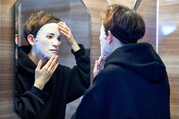 男の美容革命!風呂上がりの10分が365日を変える男性向けのパック「malicia」登場