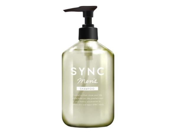 未来に備える頭皮ケアを!フケやかゆみの症状を抑える「SYNC men's メンズシャンプー」発売中