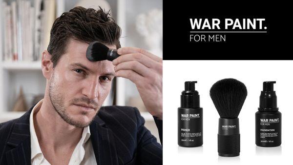自然な仕上がりで安心、男のためのメイクブランド「WAR PAINT.」から3アイテムが登場!