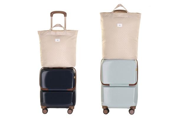キャスターの汚れ、気にならない?靴を脱ぐように、荷物だけを室内に持ち込める「スーツケース」登場