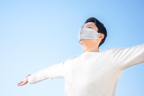 空気のトンネルをつくって息苦しさを解消!快適マスク「エアスエル」Makuakeに登場