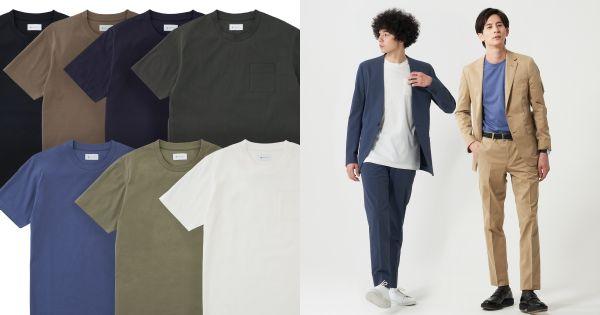 汗ばむ季節に!FABRIC TOKYOから、ビジネス向けTシャツ&きちんと見えポロシャツが発売