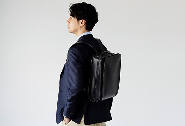 憧れの革製品を取り入れたい!メンズ鞄シリーズ「Vainno」から、ビジネスリュックなど新アイテムが登場
