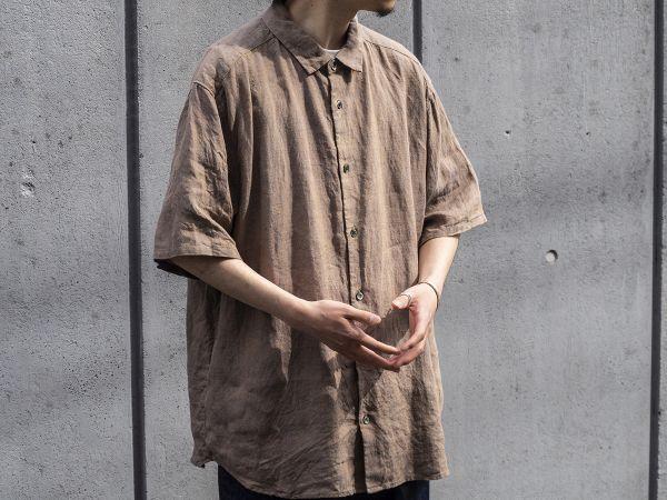 在宅勤務のオシャレを格上げ!メンズブランド「CONFECT」から、リネンを使った半袖シャツが新登場