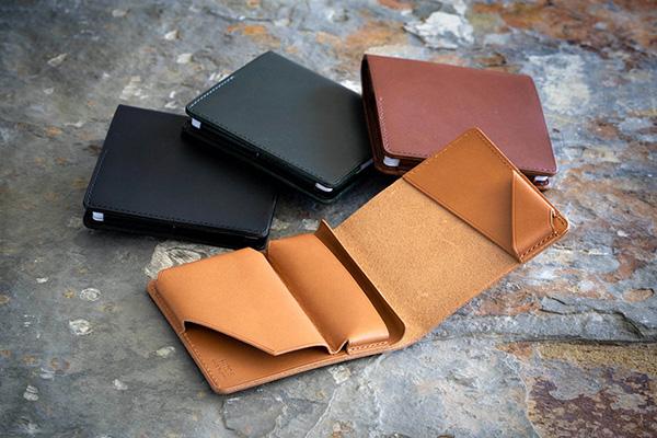 クラファンで大人気!小さな薄い財布「HITOE FOLD Liscio」さらに進化を遂げて6月24日発売へ