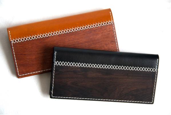 ビジネスシーンにもマッチ!木と革を融合した長財布「ARTIMBER」CAMPFIREに登場へ