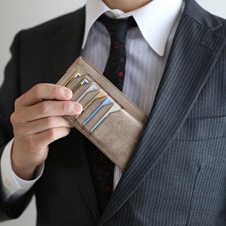 キャッシュレスでも長財布派の人へ、薄く小さい長財布『FRAGMAN bloom』が登場!
