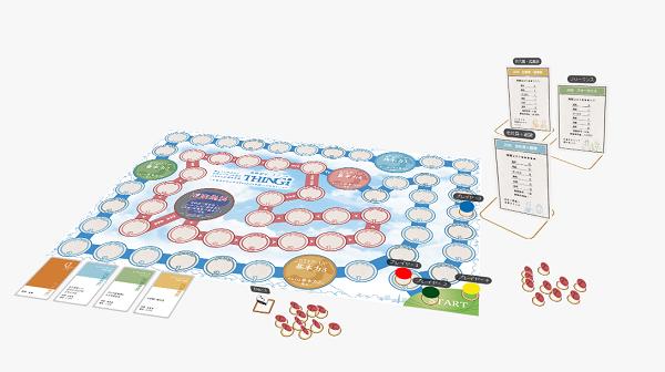 遊びながらビジネスを学べるボードゲーム「THINGi(シンギ)」のクラウドファンディングがスタート!