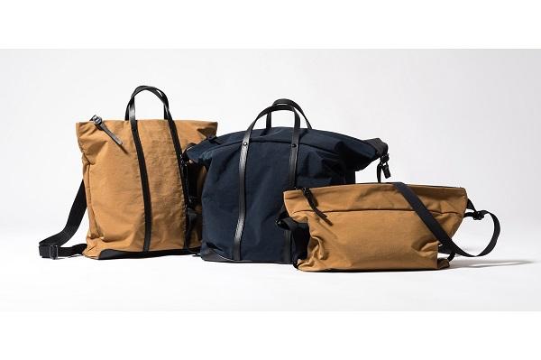鬼才バッグデザイナーが贈る!シーンに合わせて変形するバッグ「MOVE ON」新作3モデルが登場
