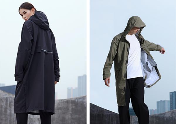 毎日着たくなるほどスタイリッシュ!雨の日をスマートに乗り切るレインコート「Raincoat-R03」先行販売中