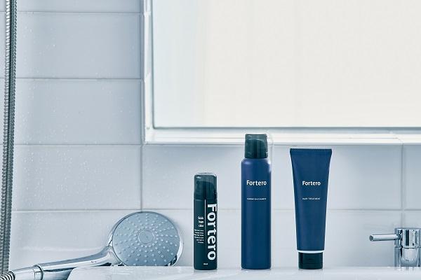 努力を惜しまないあなたの新しいパートナー!メンズ向けヘアケアブランド「Fortero」誕生