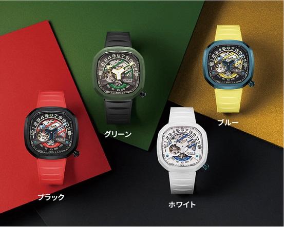 オフの時にこそ身につけたい!高級スポーツカーを彷彿とさせる自動巻き腕時計「INFINITY II」登場