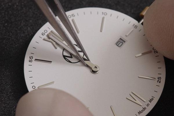 細かい作業に集中してストレス発散!パーツごとに色を選び、自分で創り上げる腕時計「Made in Me」登場